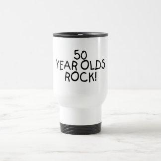 50 Year Olds Rock Travel Mug
