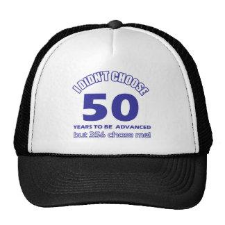 50 years advancement cap