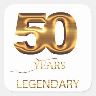 50 years legendary sticker