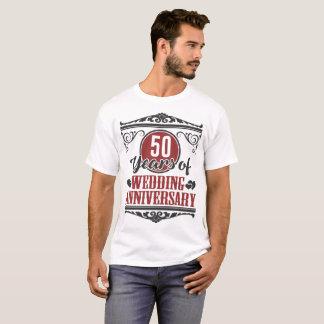 50 YEARS OF WEDDING ANNIVERSARY, 50 YEARS, 50 T-Shirt