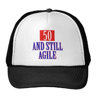 50 years old birthday designs cap