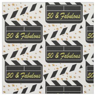 50 YR OLD MOVIE STAR FABRIC
