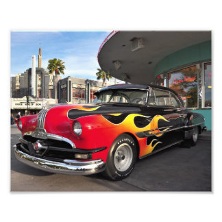 50's American Hot-Rod Photo Print