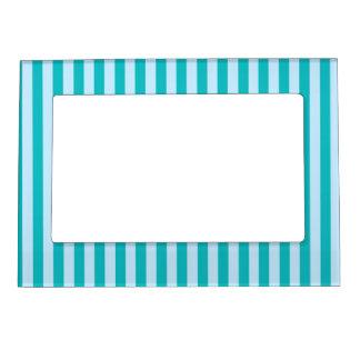 50s Blue Stripes Magnetic Frames