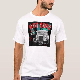 50's HOT RODS, Rock 'n Roll Design T-Shirt