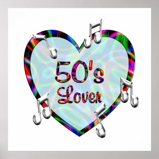 50s Lover Poster