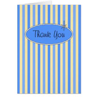 50's Retro Blueberries & Cream Thank You Card