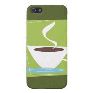 50s Retro Coffee Cup Graphic iPhone 5 Cases