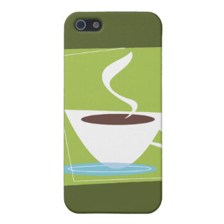 50s Retro Coffee Cup Graphic iPhone 5 Cover