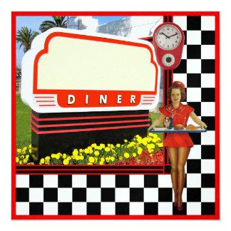50s Retro Diner Card