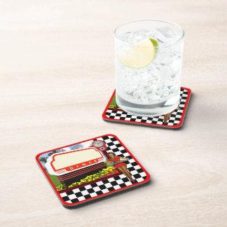 50s Retro Diner Coaster