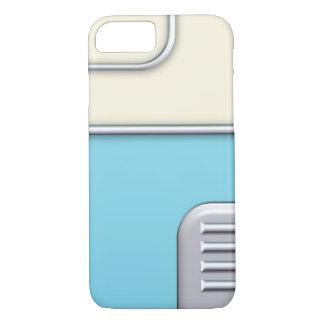 50's Retro Style Blue/Cream iPhone 7 Case