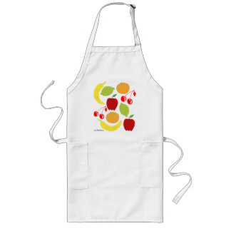 50s style fruits apron