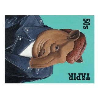 50s Tapir Postcard