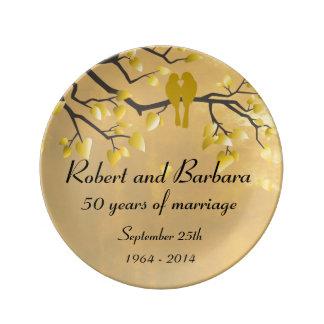 50th Anniversary Celebration Plate