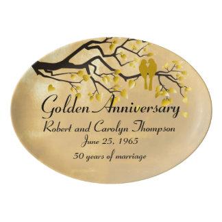 50th Anniversary Commemorative Platter