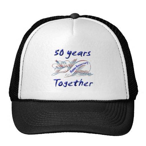 50th. Anniversary Mesh Hat