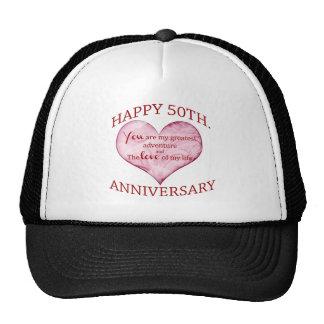 50th. Anniversary Hat