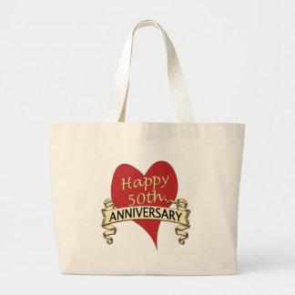 50th. Anniversary Large Tote Bag