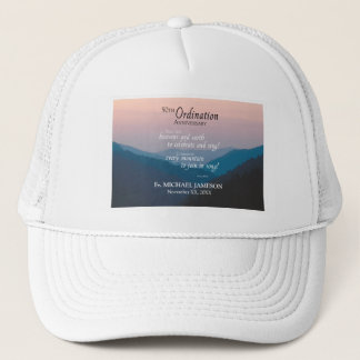 50th Anniversary of Ordination Congratulations Trucker Hat