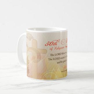 50th Anniversary of Religious Profession, Nun Coffee Mug