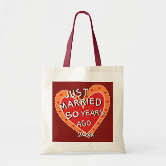 50th Anniversary or Any Yr Funny Romantic Gift Tote Bag