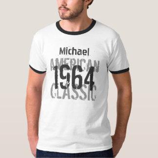 50th Birthday 1964 American Classic Black White Tee Shirt