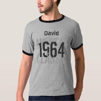 50th Birthday 1964 American Classic Gray T-Shirt