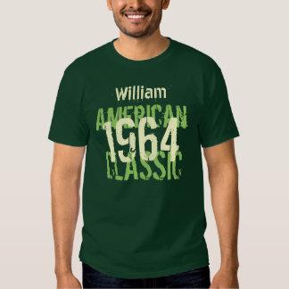 50th Birthday 1964 American Classic Green Shirts