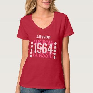 50th Birthday 1964 American Classic Stars Woman T-Shirt