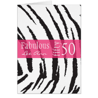 50th Birthday Card for Baby Boomer Women