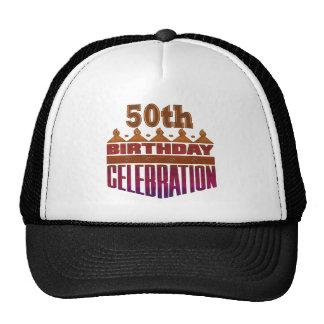 50th Birthday Celebration Gifts Cap