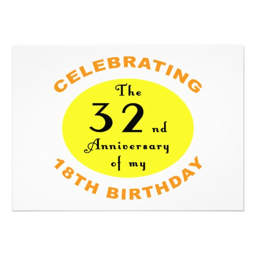 50th Birthday Gag Gift Personalised Invitations
