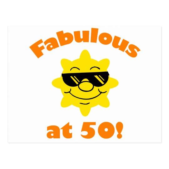 50th Birthday Gag Gift Postcard