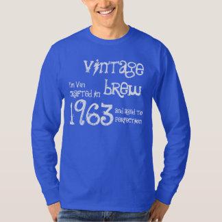 50th Birthday Gift 1963 Vintage Brew Blue G210 T-shirts