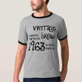 50th Birthday Gift 1963 Vintage Brew G232 T-Shirt