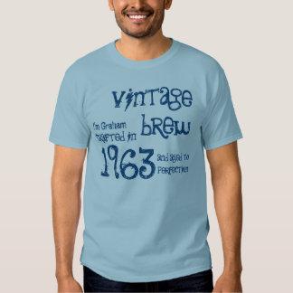 50th Birthday Gift 1963 Vintage Brew G232B T Shirts