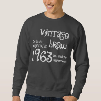 50th Birthday Gift 1963 Vintage Brew G232L Sweatshirt