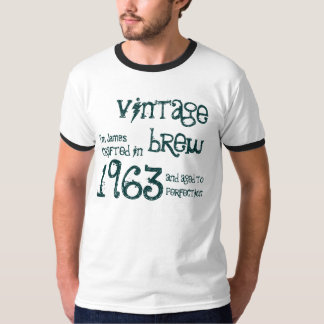 50th Birthday Gift 1963 Vintage Brew G234 Tee Shirt