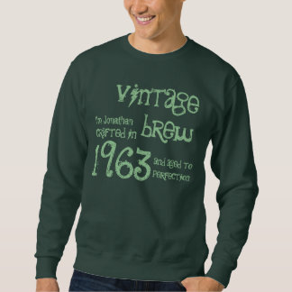 50th Birthday Gift 1963 Vintage Brew G243 Sweatshirt