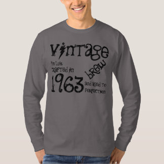 50th Birthday Gift 1963 Vintage Brew H239L T-Shirt