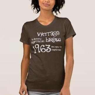50th Birthday Gift 1963 Vintage Brew T-Shirt
