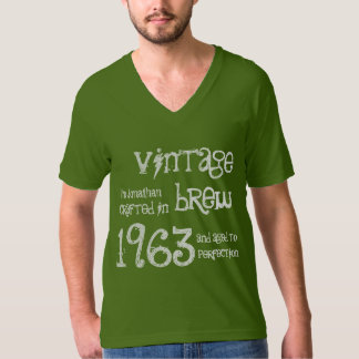 50th Birthday Gift 1963 Vintage Brew T-Shirt
