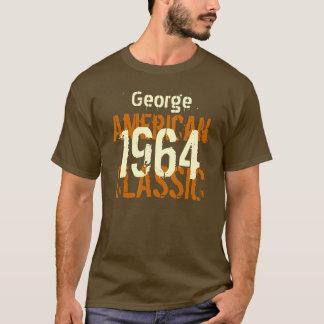 50th Birthday Gift 1964 American Classic Brown T-Shirt