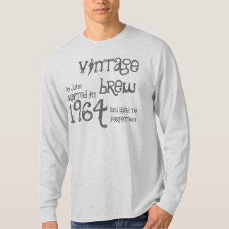 50th Birthday Gift 1964 Vintage Brew Gray G214N T-Shirt