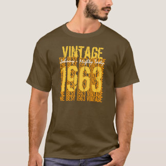 50th Birthday Gift Best 1963 Vintage T-Shirt