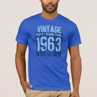 50th Birthday Gift Best 1963 Vintage V003 T-Shirt