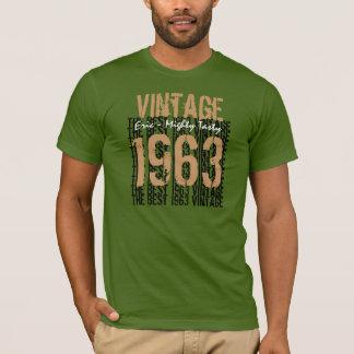 50th Birthday Gift Best 1963 Vintage V004 T-Shirt