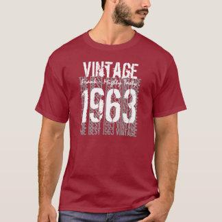 50th Birthday Gift Best 1963 Vintage V005 T-Shirt