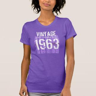 50th Birthday Gift Best 1963 Vintage V005C T-Shirt